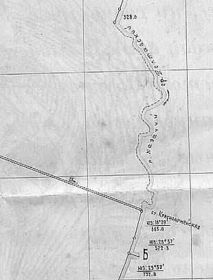 фрагмент карты из из гос. акта