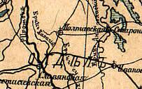 Казачий ерик на старой карте